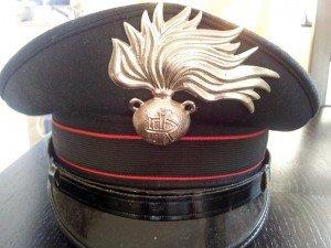 Schirmmütze der Carabinieri