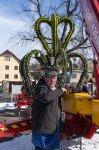 Der Initiator des Brunnens, Heinz Schreiber