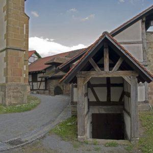 Gaden um die Kirchenburg
