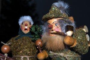 Weihnachten im Vogtland: der Moosmann