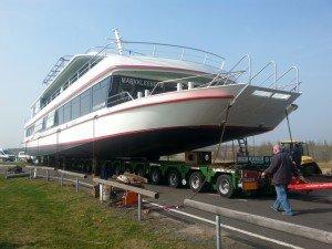 Das neue Schiff für den Markkleeberger See