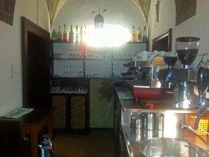 Zentraler Punkt: die Bar
