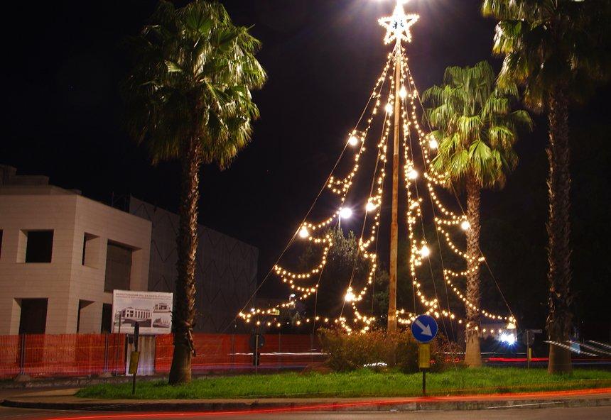 Weihnachten in Ostuni, Apulien