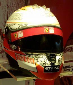 Sicherheit 2007: Hightech-Helm von Kimi Raikkonen