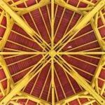 Dachkonstruktion im Chinesischen Pavillon