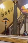 Das Treppenhaus im Spiegel